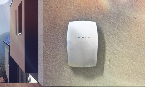 The 10kw Tesla Powerwall Home Battery. Image credit - Inhabitat.com