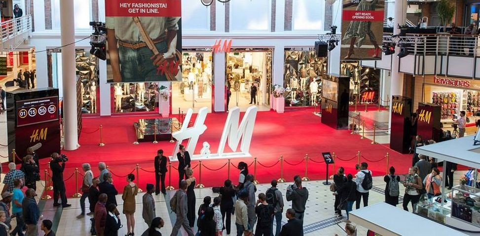 H&M Store Opening V&A Waterfront Cape Town