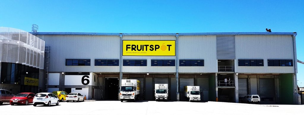 The Fruitspot in Greenfield Industrial Park, Airport, Cape Town