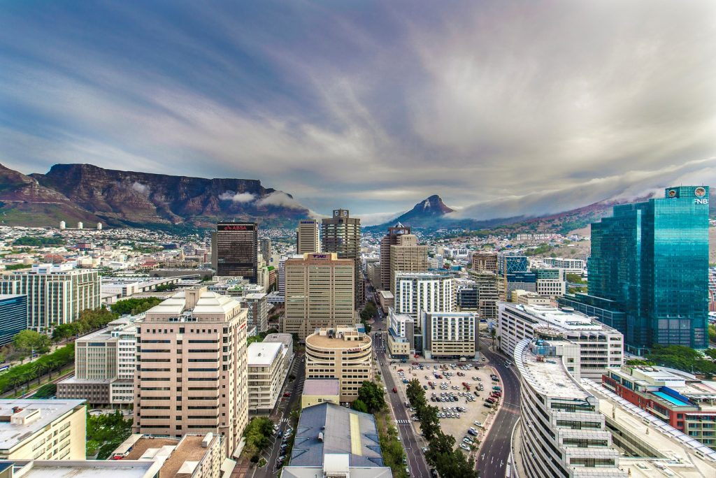 Cape Town City Centre Financial District
